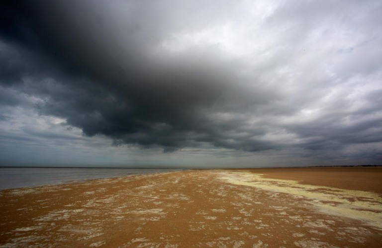 Photo of the beach at Les Hemmes de Marck, near Calais., France